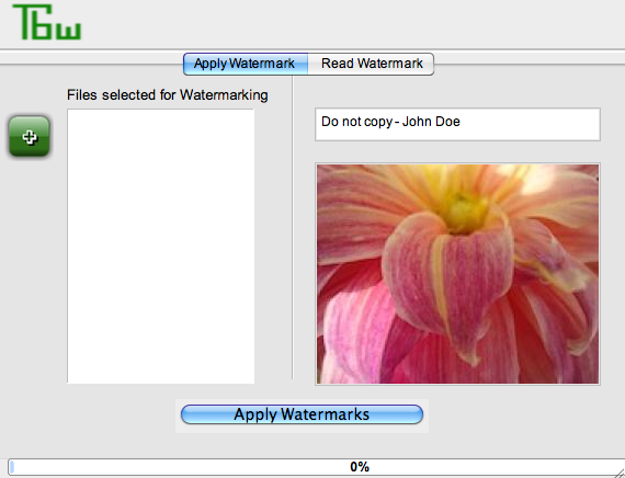 invisible watermarking software
